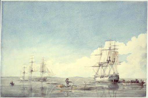 HBC Ships in Hudson Strait, Summer 1819