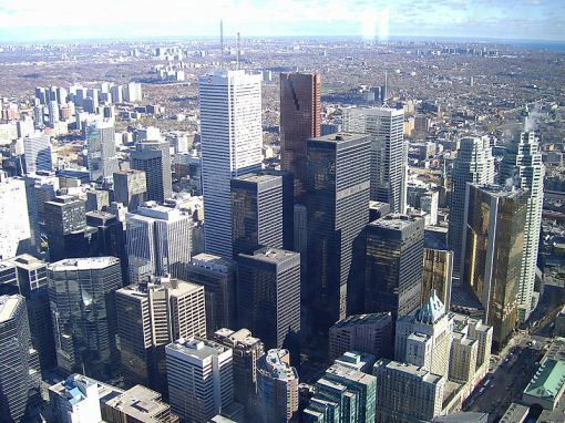 Toronto's Financial District Today