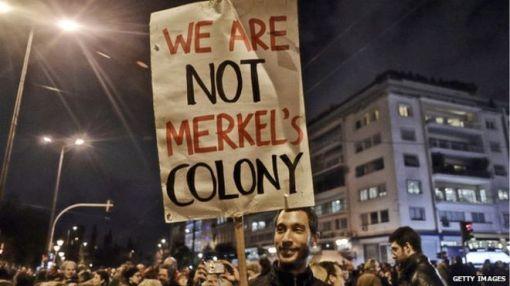 not merkel's colony